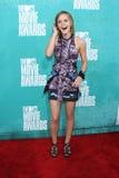 2012 MTV电影的埃玛・华森授予到达, Gibson圆形剧场,通用城市,加州06-03-12 免版税库存图片