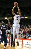 2012 NCAA Basketbal - sprongschot Stock Afbeeldingen