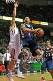 2012 NCAA Basketbal - taai schot Stock Afbeelding