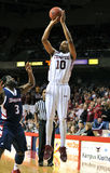 2012 NCAA Basketball - jump shot Stock Images