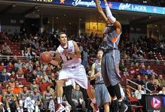 2012 NCAA de Actie van het Basketbal van Mensen Royalty-vrije Stock Foto's