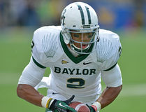 2012 NCAA football - Baylor @ WVU Royalty Free Stock Photos