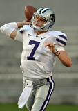2012 NCAA football - K State - WVU Royalty Free Stock Images