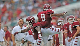 2012 NCAA football - USF @ Temple Royalty Free Stock Photos