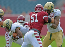 2012 NCAA football - USF @ Temple Royalty Free Stock Photography