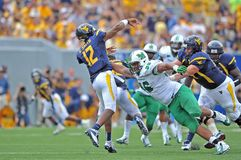 2012 NCAA Football - WVU vs Marshall Royalty Free Stock Photo