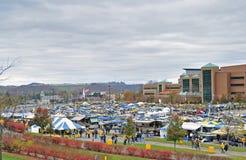 2012 NCAA football - WVU vs TCU Royalty Free Stock Images