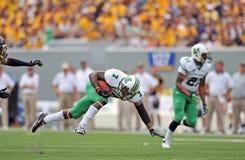 2012 NCAA-Fußball - WVU gegen Marshall Stockfotografie