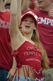 2012 NCAA futbol - USF Świątynia @ Obraz Stock