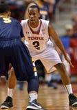 2012 NCAA het Basketbal van Mensen - de Uilen van de Tempel Royalty-vrije Stock Afbeelding