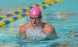 2012 NCAA het zwemmen Stock Fotografie