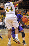 2012 NCAA Men's Basketball - Drexel - JMU Royalty Free Stock Photography