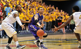 2012 NCAA Men's Basketball - Drexel - JMU Royalty Free Stock Photo