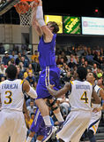 2012 NCAA Men's Basketball - Drexel - JMU Royalty Free Stock Photography