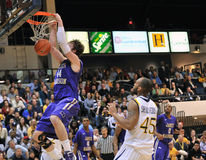 2012 NCAA Men's Basketball - Drexel - JMU Royalty Free Stock Image
