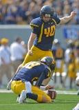 2012 NCAA voetbal - Baylor @ WVU Royalty-vrije Stock Afbeeldingen