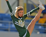 2012 NCAA voetbal - Baylor @ WVU Royalty-vrije Stock Foto