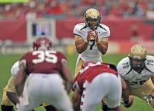 2012 NCAA voetbal - @ Tempel USF Royalty-vrije Stock Afbeeldingen