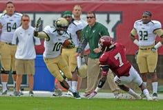 2012 NCAA voetbal - @ Tempel USF Stock Afbeelding