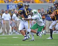 2012 NCAA Voetbal - WVU versus Marshall Stock Fotografie
