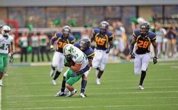 2012 NCAA Voetbal - WVU versus Marshall Stock Foto