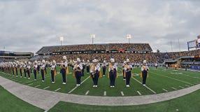 2012 NCAA voetbal - WVU versus TCU Royalty-vrije Stock Fotografie