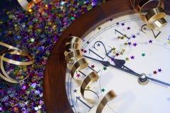 2012 neue Jahre Party-Hintergrund- Lizenzfreies Stockfoto