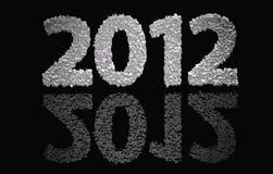 2012 neues Jahr Lizenzfreies Stockbild