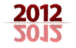 2012 neues Jahr Stockfotografie