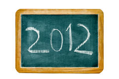 2012, an neuf heureux Photo stock