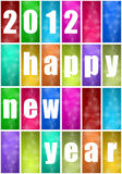 2012 new year. Abstract background Stock Photography