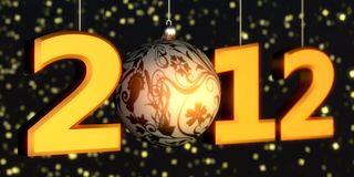 2012 New-year Stock Image