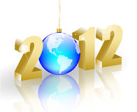 2012 new year background Stock Images