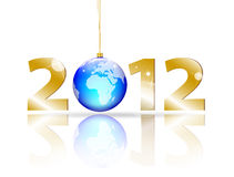 2012 new year background Royalty Free Stock Photography