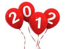 2012 new year balloon Stock Image