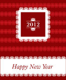 2012 -  New Year celebration. Background for poster and flayer Stock Photos