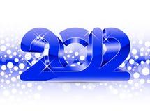2012 New Year illustration Royalty Free Stock Image