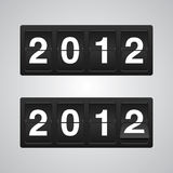 2012 New Year Vector Royalty Free Stock Image