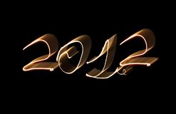 2012 nimerals del fuego Foto de archivo