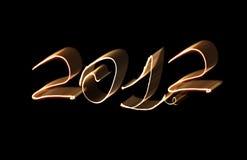 2012 nimerals del fuoco Fotografia Stock