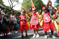2012, Notting- Hillkarneval Stockbilder