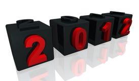 2012 numbers Stock Photos