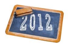 2012, nuovo anno Immagine Stock