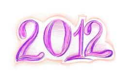 2012 nya år Arkivfoto
