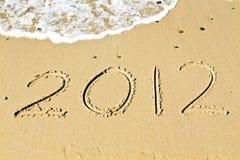 2012 nya välkommna år Arkivbilder