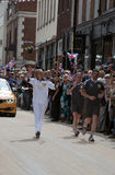 2012 Olympic Flame - Torch Relay Stock Photography