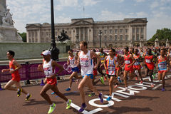 2012 Olympic Marathon Royalty Free Stock Photography