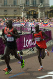 2012 Olympic Marathon Stock Images