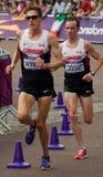2012 Olympic Marathon Stock Photo