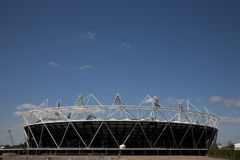2012 Olympic Previews. Preview images for the London 2012 Olympic games. The Athletics Arena Royalty Free Stock Images